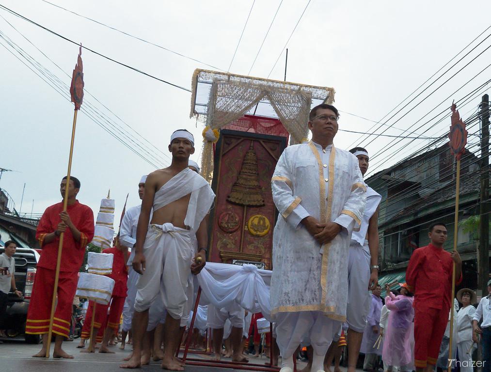 Nang Kradan parade in Nakhon Si Thammarat