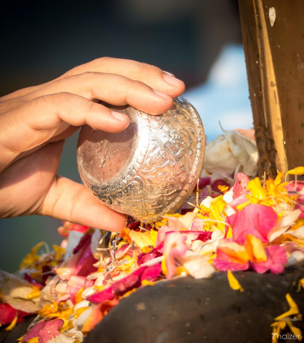 silver Songkran bowl