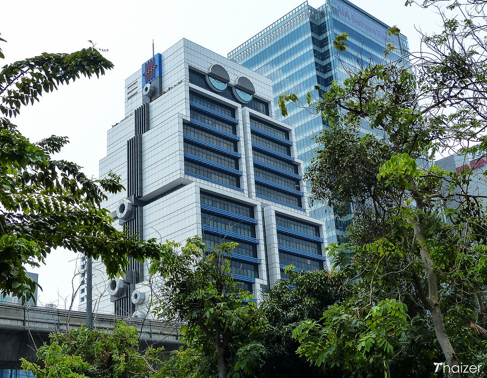 front view of the Bangkok robot building