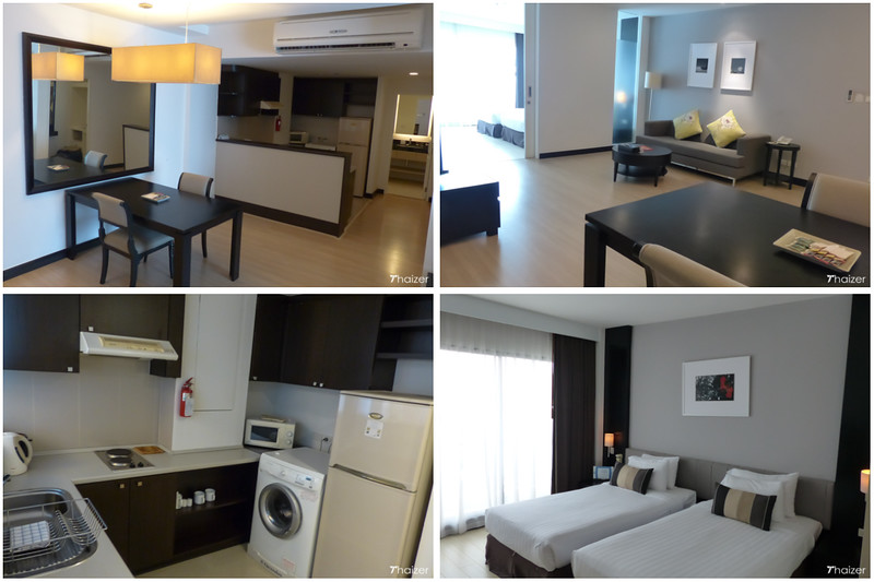 1-bedroom serviced residence at Somerset Park Suanplu