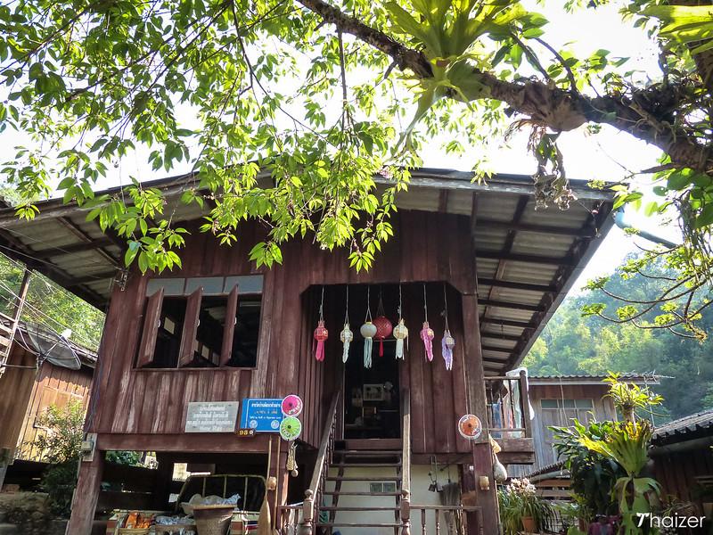 homestay house at Mae Kampong, Chiang Mai