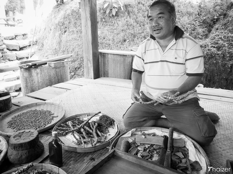 Khun Somboon, the medicine man at Mae Kampong