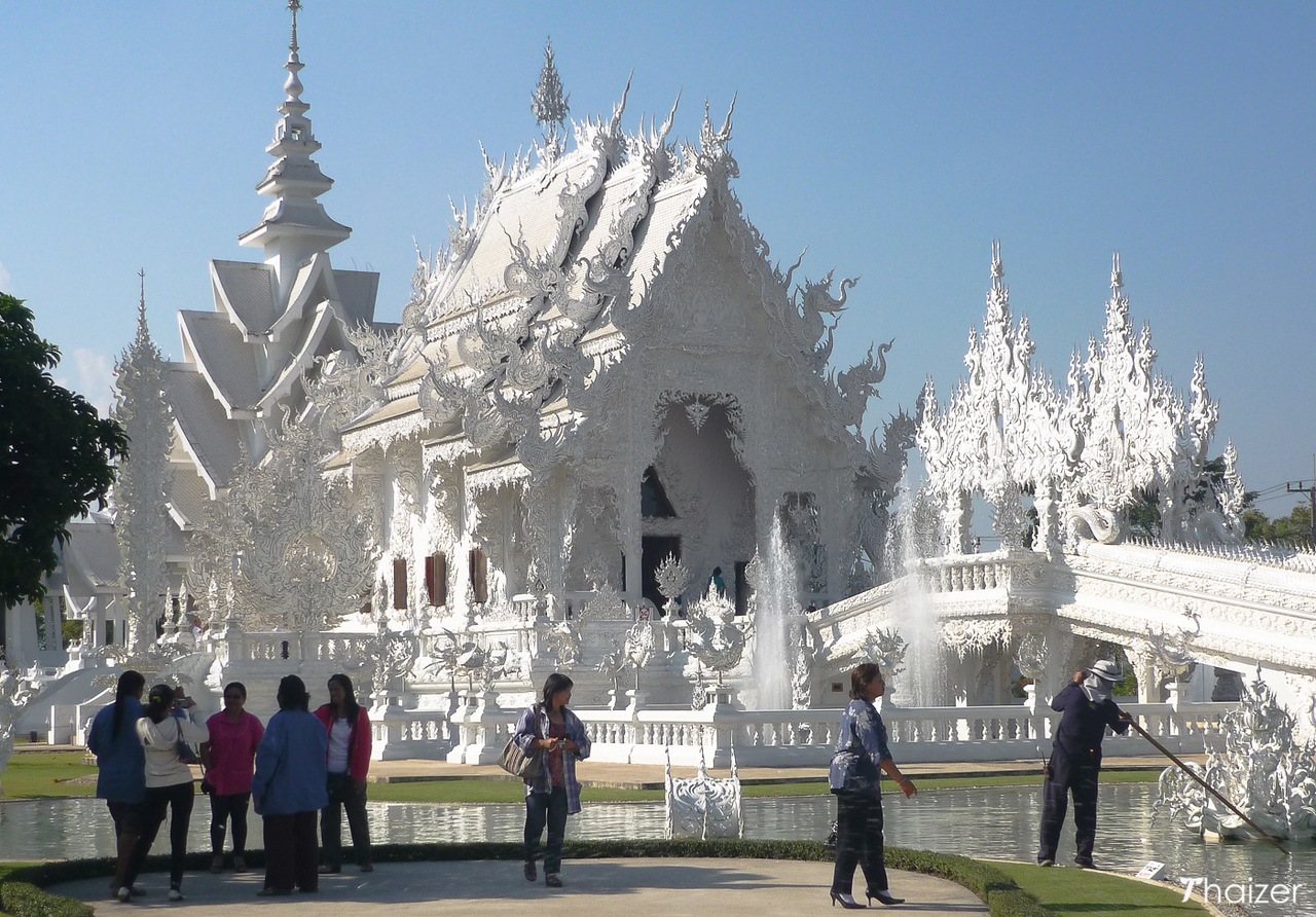 White Temple, Wat Rong Khun, Chiang Rai