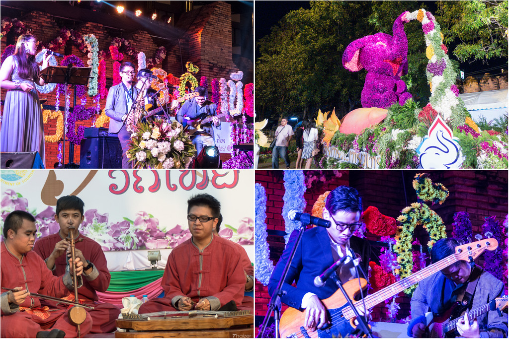 music concerts at Chiang Mai Flower Festival