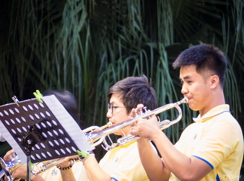 free concert in Lumphini Park, Bangkok
