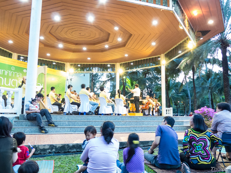Bangkok Symphony Orchestra perform Concert in the Park