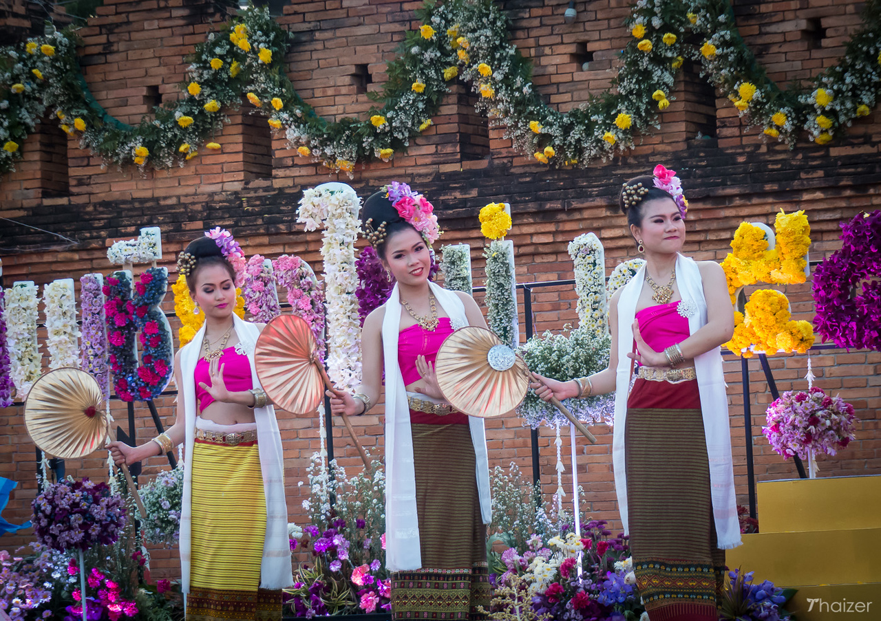 opening ceremony of Chiang Mai Flower Festival