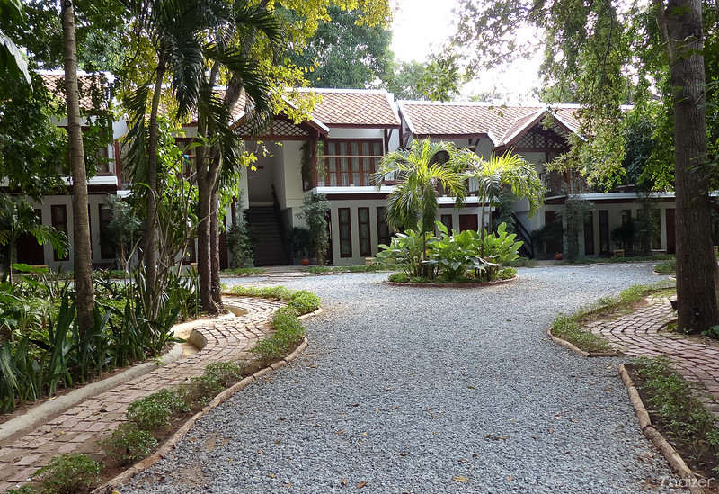 garden setting of The Monttra Pattaya