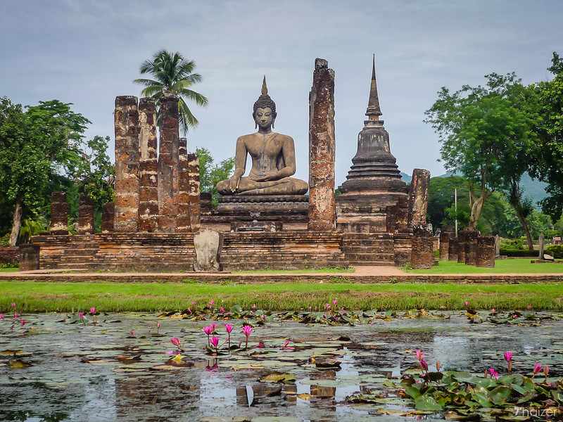 Highlights of Sukhothai Historical Park, Thailand